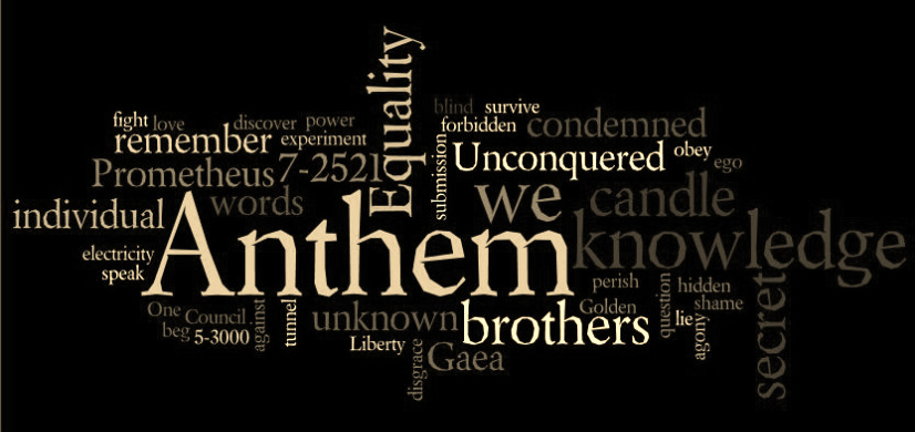 anthem by ayn rand an overview Librivox's anthem by ayn rand read by chere theriot anthem is a dystopic science fiction story taking place at some unspecified future date mankind has.